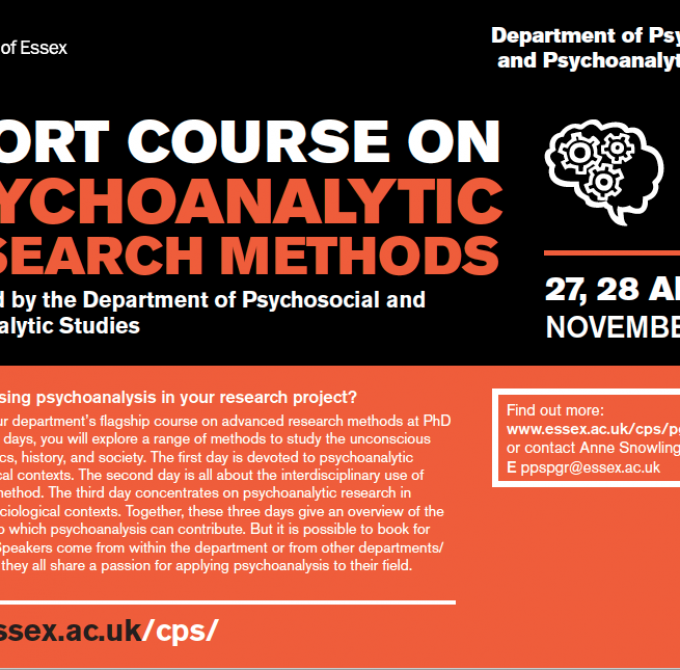 Research methods training
